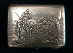 "A cigarette case ""Knight at the Crossroads"" - 0$"