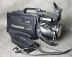 "Кинокамера ""Panasonic M 3000"" ""VHS Movie Camera NV-M3000"". 1960-е годы."