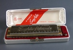 "Губная гармошка ""The Larry Adler Professional 16"" Производитель: ""M. HOHNER"". 1960-е годы."