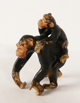 "A statuette ""Two Chimpanzees"""