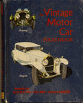 """The Vintage Motor Car Pocketbook"""