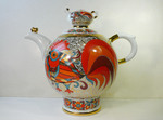 "A teapot ""Red cock"""