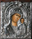 "An icon ""The Kazan Mother of God"""