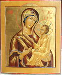 "An icon ""The Tikhvinskaya Mother of God"""