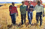 "A picture ""Grain-growers"""